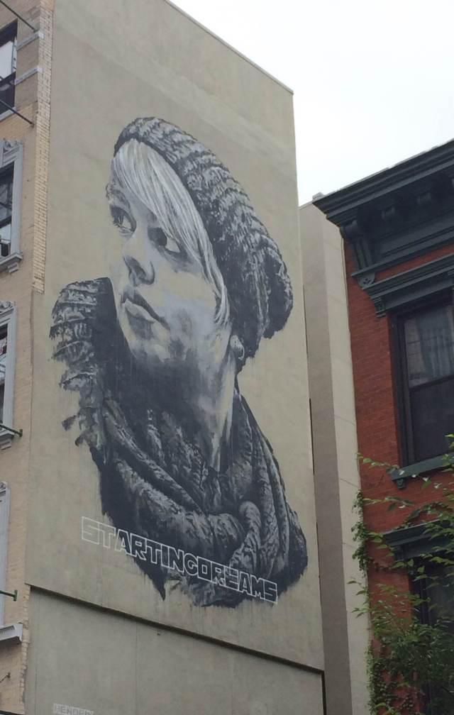 Wall Art in East Village