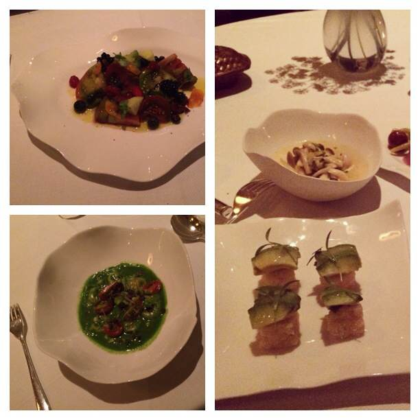 The Dinner at Jean Georges