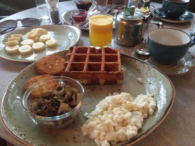 less oil waffle